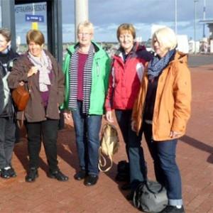 Angekommen am Norderneyer Hafen