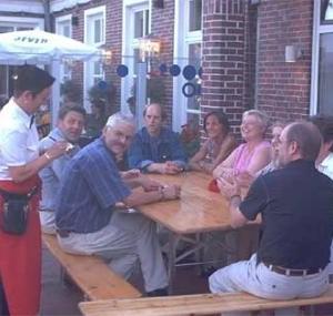Ausklang auf der Terrasse von Martini