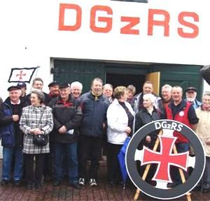 AG 60 plus am 20.04.2006 zu Gast bei der DGzRS im Rettungsschuppen in Norddeich