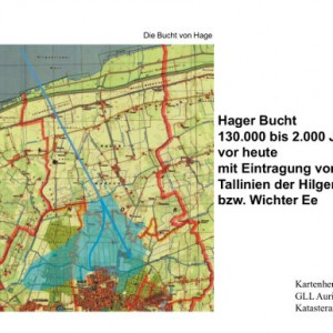 Ungefähre Lage des verlandeten Hager Sees ab 130.000 Jahre vor heute