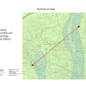Plan zur Lage der Salzstöcke südwestlich und östlich von Hage