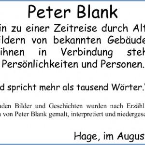 Einladung Peter Blank